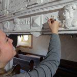 Farbbefunduntersuchung in der Kirche Flechtingen