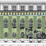 Pergamonmuseum Nordflügel/Nordfassade – Putzphasenkartierung des Steinputzes