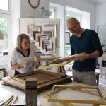 Ateliergemeinschaft mit Vergolder und Fassmaler Michael Janowski
