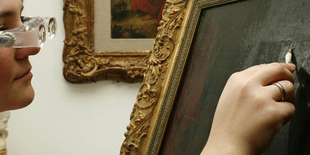 Gemälderestaurierung